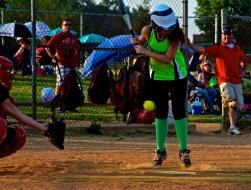 June- Sweating to Softball