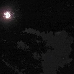 Full Moon and Mars