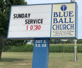 blue-ball-church-sign